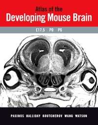 Cover of textbook Atlas of the Developing Mouse Brain
