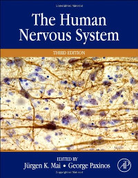 Cover of textbook The Human Nervous System
