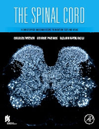 Cover of textbook The Spinal Cord