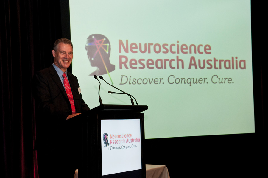Prof Schofield announces the new name of NeuRA