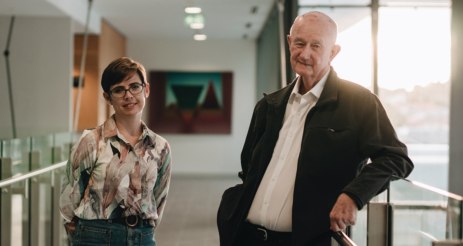 Professor Tony Broe and Dr Kylie Radford